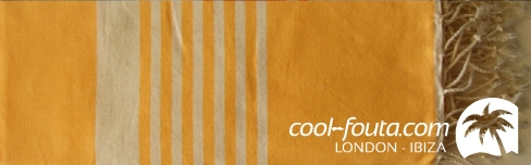 Saffron & White lines by Cool-Fouta